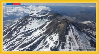 Logo CE5NCV Volcan Nevados de Chillan