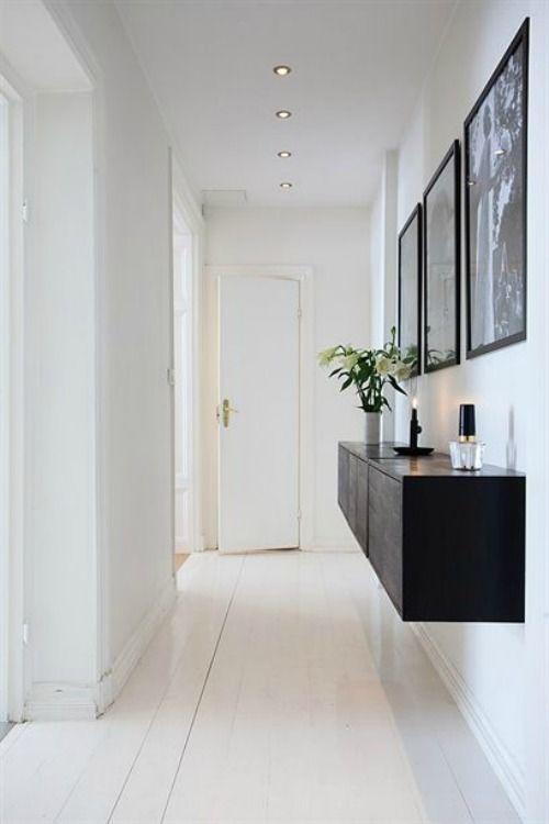 Soluciones para decorar pasillos estrechos decoshabby - Decorar pasillos estrechos ...