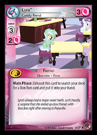 My Little Pony Lyra, Candy Fiend Marks in Time CCG Card