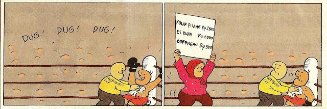Komik strip karya Hanung Kuncoro. Pernah dipublikasikan pada 2 Oktober 2007.