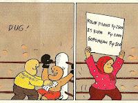 Sumpah Lucu! Komik Strip Karya Hanung Kuncoro