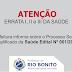 Errata do Processo Seletivo da Saúde 001/2017 - Rio Bonito - RJ