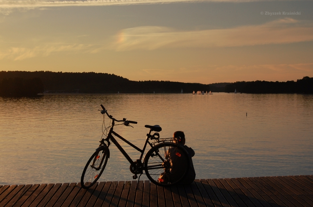Olsztyn, jezioro Ukiel, plaża miejska