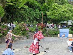 鎌倉宮草鹿