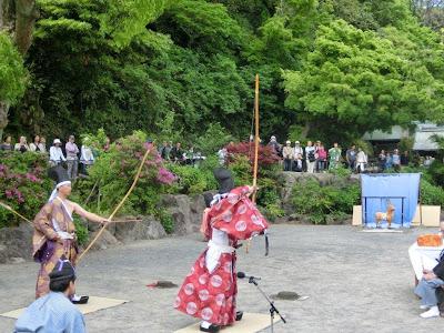 鎌倉宮:草鹿