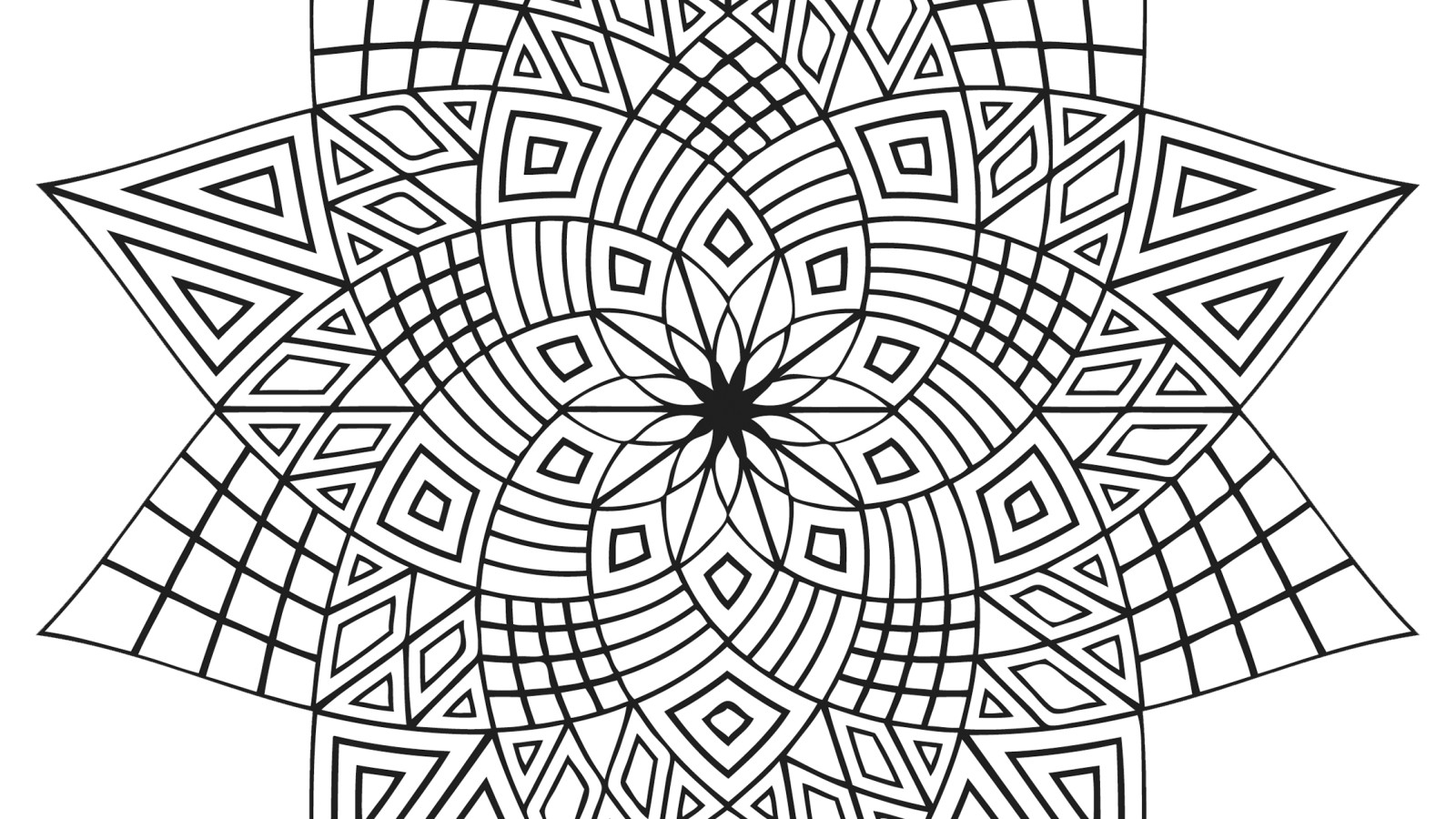 Top Cool Flower Coloring Pages Library