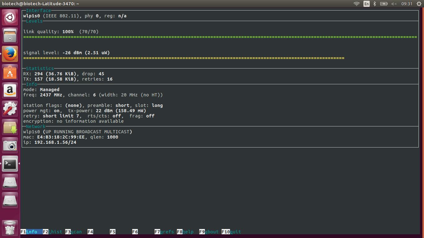 How to install program on Ubuntu: How To Check WiFi Signal