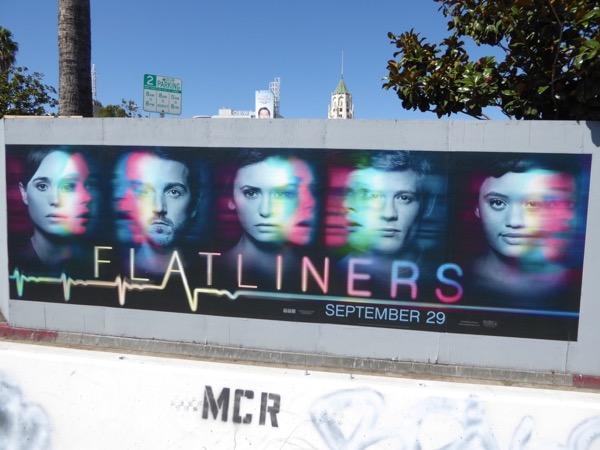 Flatliners film remake street posters