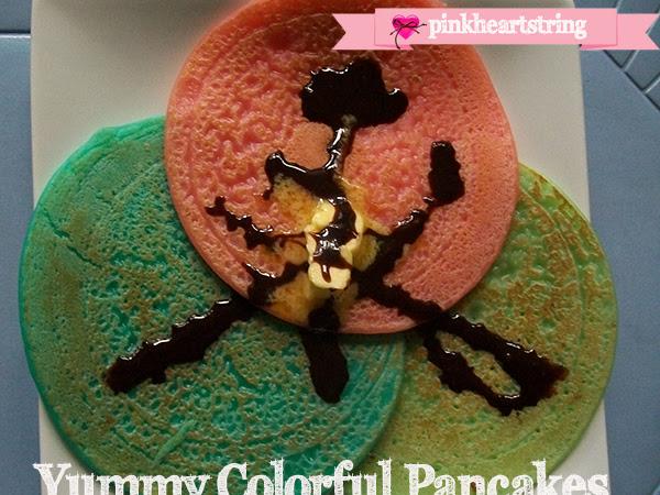 DIY Foodie: Yummy Colorful Pancakes