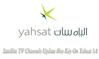 All Satellite TV Channels Update Biss Key On Yahsat 1A 52.5°E