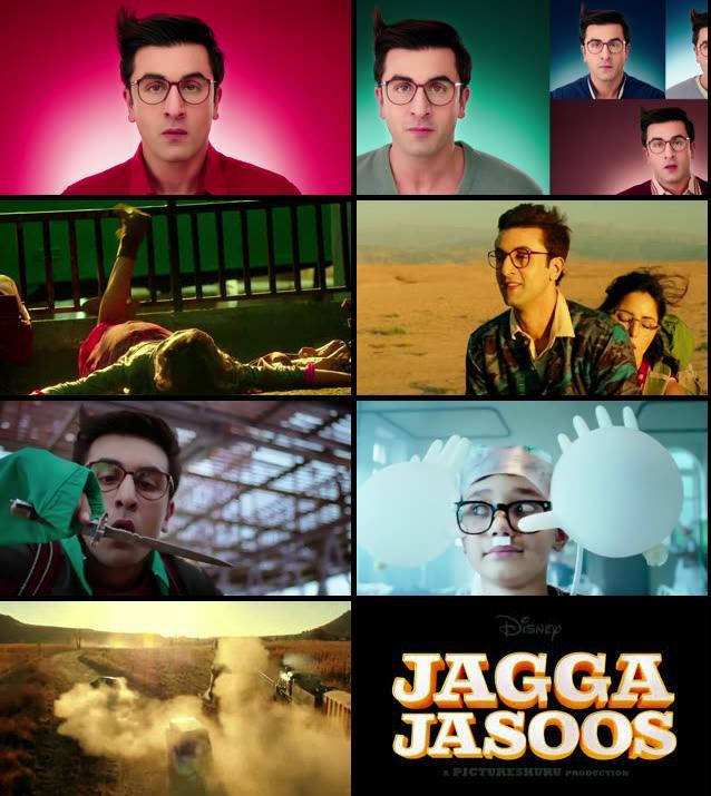 Jagga Jasoos Official Trailer 720p HD Download