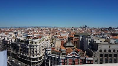Azotea. Círculo de Bellas Artes. Madrid