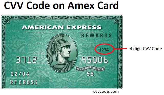 amex cvv code