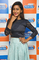 Shravya in skirt and tight top at Vana Villu Movie First Song launch at radio city 91.1 FM ~  Exclusive 20.JPG