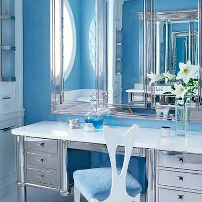 Depois do Outubro Rosa chegou o Novembro Azul a campanha para conscientizar os homens na prevenção do câncer de próstata. o câncer é bastante comum entre os  homens e a prevenção é importante. Mais hoje o blog vai se inspirar na cor azul, uma cor linda que digo que é a minha cor preferida, então se inspire-se.