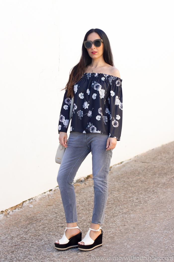 Ideas para vestir con vaqueros arreglada pero informal blogger moda valenciana