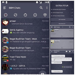 DOWNLOAD NEW BBM MOD V3.0.1.25  APK