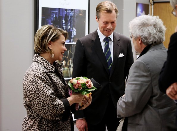 Grand Duke Henri and Grand Duchess Maria Teresa of Luxembourg