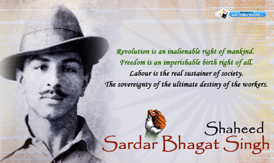 Youth Bhagat Singh Who Kissed The Noose Before Execution