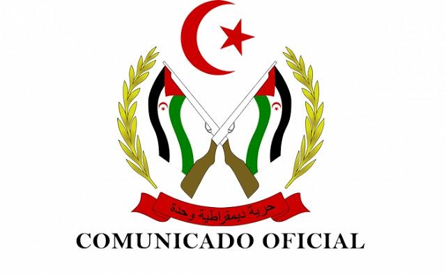 Comunicado oficial del Frente Polisario