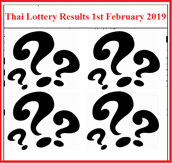 thailand-lottery-results-1st-february-2019