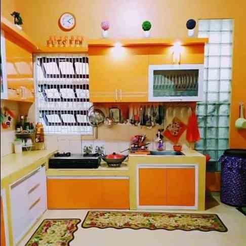 warna cat dapur minimalis mewah