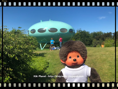 monchhichi kiki toys vintage extraterrestres aliens maison du futur, futura home  jardins suspendus, le havre, fort de tournaille, 501 ans, un été au havre