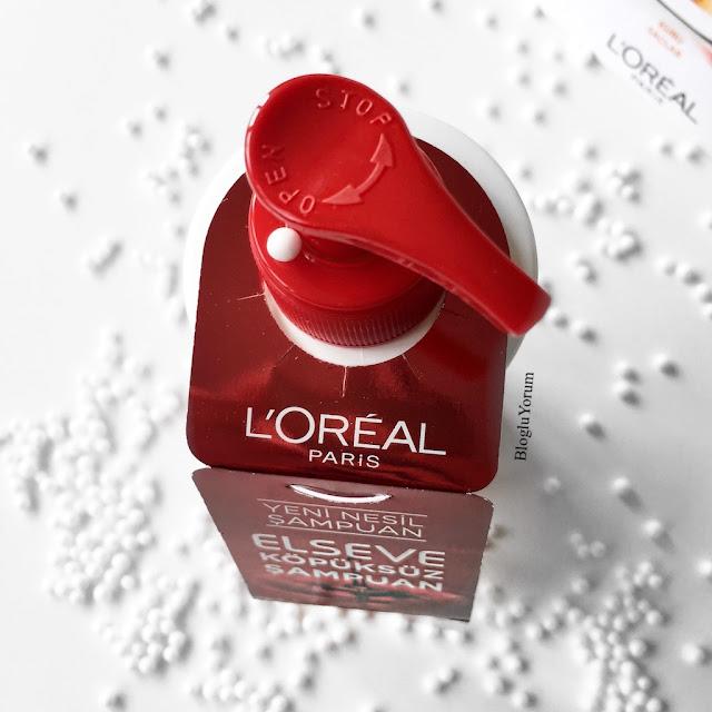loreal elseve köpüksüz şampuan