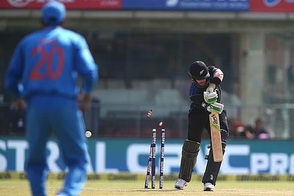 India vs NZ 2nd ODI Full Scorecard 2016