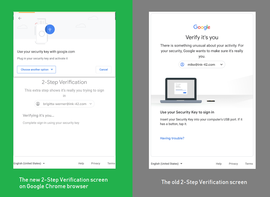 Google Announces New 2-Step Authentication Interface