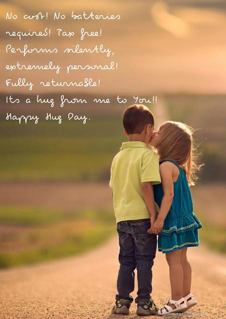 Happy Hug Day 2019 Wishes
