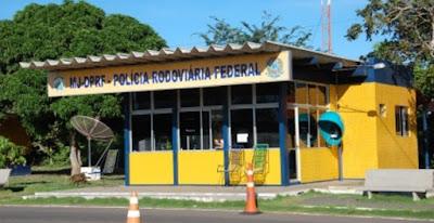 Resultado de imagem para Posto da Polícia Rodoviária Federal em Parnaíba