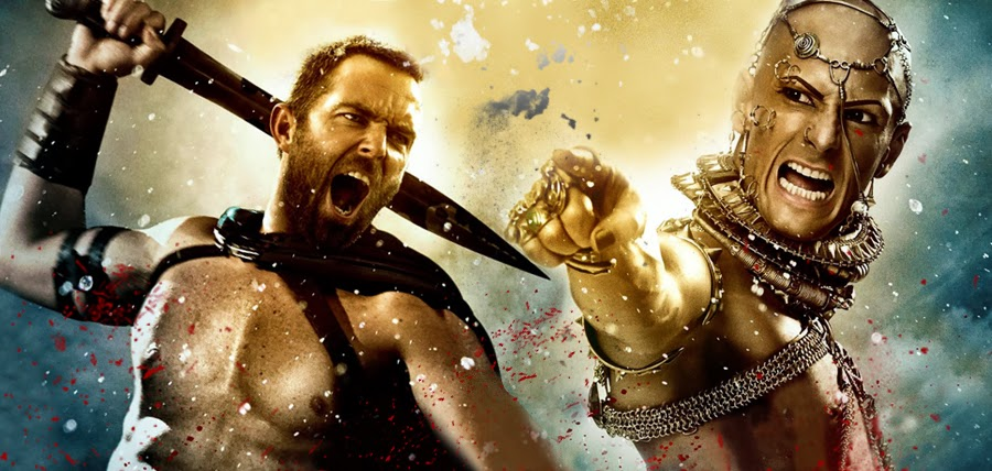 Temistocles vs. Xerxes în 300: Rise Of An Empire