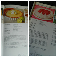 lemon flan, raspberry meringue, recipe, cook book,