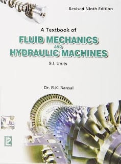 A Textbook of Fluid Mechanics and Hydraulics Machine by R K Bansal