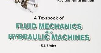 Fluid Mechanics Hydraulic Machines Rk Bansal Ebook