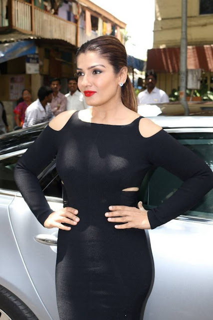 Raveena Tandon Stills At The Bharat Prerna Awards Special Issue Launch