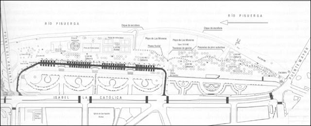 Planos de la Ciudad de Valladolid | Mapas antiguos | Urbanismo | El plano de Bentura Seco de 1738