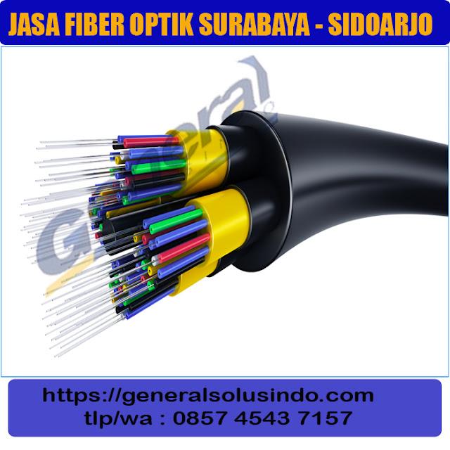 jasa fiber optic surabaya - jawa timur