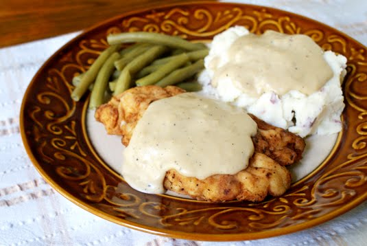 Chicken Fried Chicken With Pan Gravy The Two Bite Club