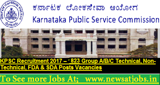 KPSC-Recruitment-2017-823-Technical-Posts