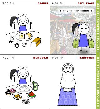 Diet Bulan Puasa