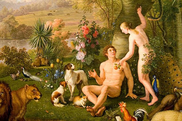 Adam et Eve, detail (Karlsbad 1745 - Rome 1829), Peter Wenzel, Vatican Museum