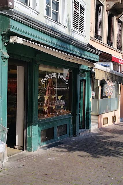 Boulangerie in Strassburg