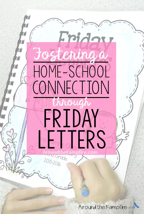 Fostering the home school connection through friday letters around fostering the home school connection through friday letters tips for using this simple spiritdancerdesigns Images