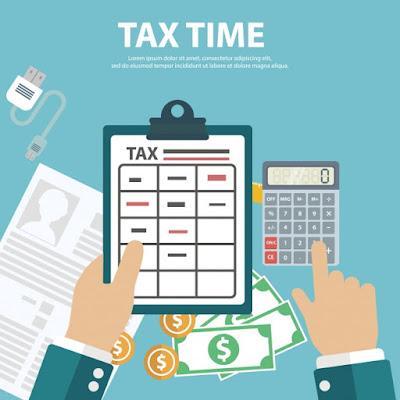 membuat laporan pajak tahunan SPT.