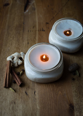 http://helloglow.co/diy-pretty-chai-candles-in-canning-jars/
