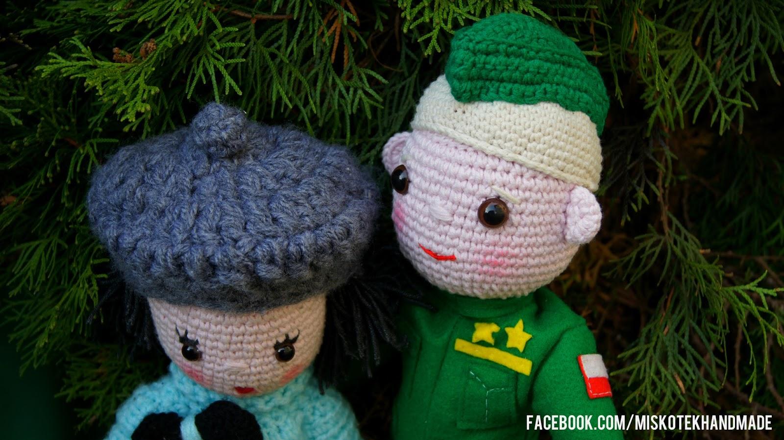 amigurumi, lalki robione na szydełku, lalka DIY