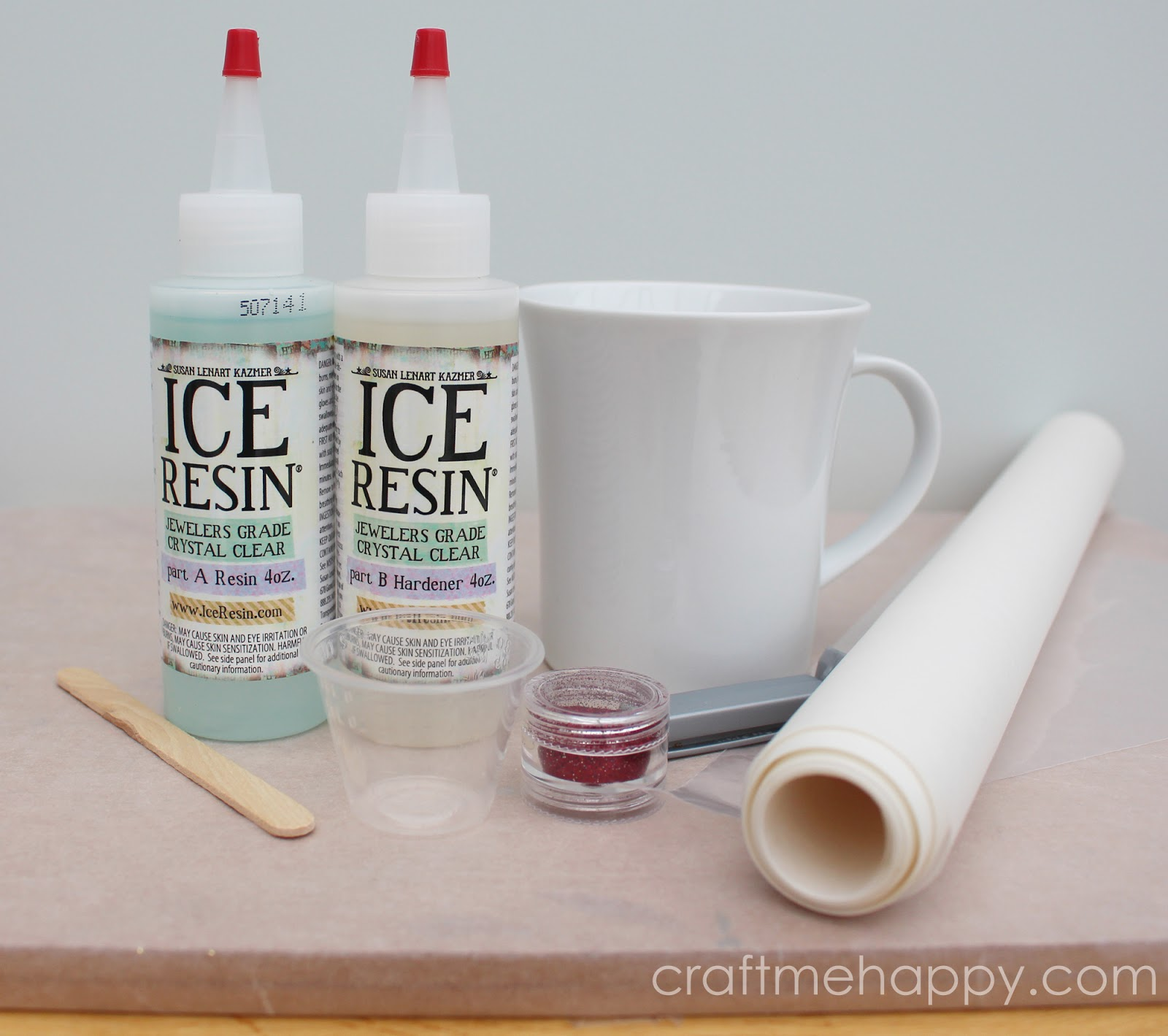 Craft me Happy!: How to make resin glitter dots