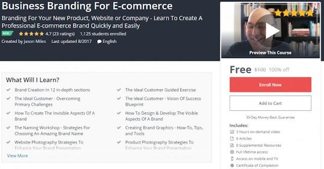 [100% Off] Business Branding For E-commerce| Worth 100$